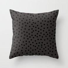 Large dots Throw Pillow