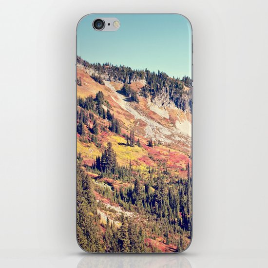 Fall Mountain iPhone Skin