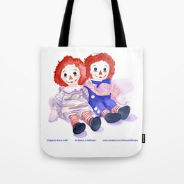 Raggedy Anne / Andy Tote Bag