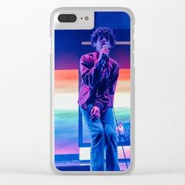 1975 live Phoenix LGBTQ Clear iPhone Case