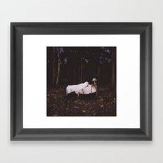 Night Demons Framed Art Print