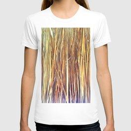 434 - Abstract grass design T-shirt