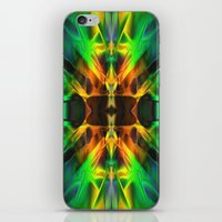 neon iPhone & iPod Skins featuring Neon by Assiyam