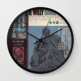 Willy 'Shake' & All That Jazz (Japanese OBI Edition) Wall Clock