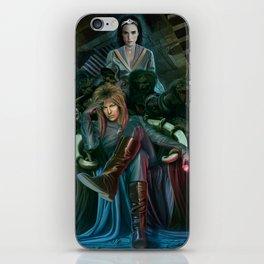 Return To Labyrinth iPhone Skin