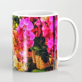 Orchids in the Market Coffee Mug