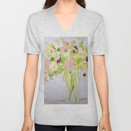 Light and Airy Unisex V-Neck
