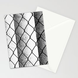 Parking Garage Abstract Stationery Cards