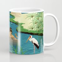 egypt Mugs featuring Egypt by Betty S