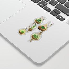 Cacti Terrariums Sticker