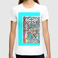 grid T-shirts featuring COLOR GRID by  ECOLARTE
