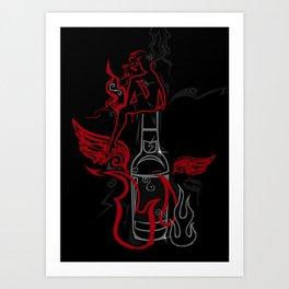 Debauche Art Print
