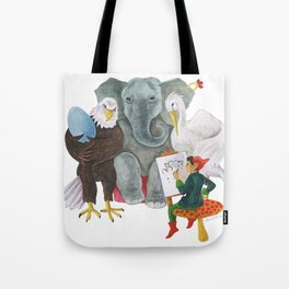 The Alphabet Series - Letter E - The Family Portrait Tote Bag