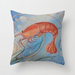 Georgia Shrimp Throw Pillow