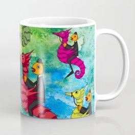 MULTICOLOUR SEAHORSES Coffee Mug