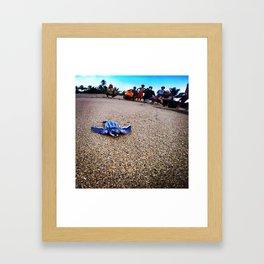 Leatherback Turtle Framed Art Print