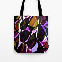 weed Tote Bags featuring Red weed. by Sarah Bagshaw