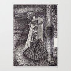 Robot bird Canvas Print