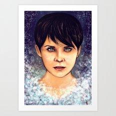 White as Snow Art Print