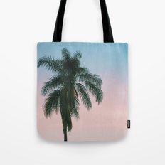 Pastel Palm Tote Bag