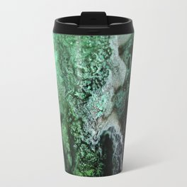 Fossil Fuels Original Abstract Painting, Contemporary Abstract Artwork Design, Abstract Painting Travel Mug