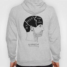 Alternative Phrenolgy Head Print by Emilythepemily Hoody