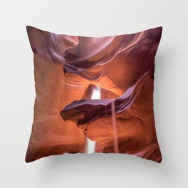 Arizona Antelope canyon Throw Pillow