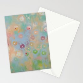 Pastel Daisies Stationery Cards