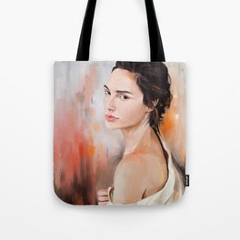 Gal Gadot Woder Woman Tote Bag