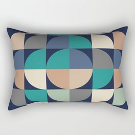 Gestalt Geometric Rectangular Pillow