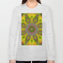Abstract Flower AAA R Long Sleeve T-shirt