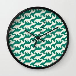 Nintendo .green Wall Clock