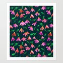 Touched By Love    #illustration #pattern by 83oranges