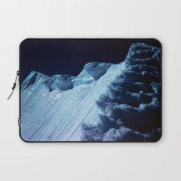 NATURE'S WONDER #2 - Glacier in the dark #art #society6 Laptop Sleeve