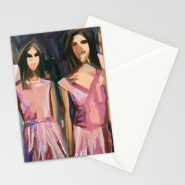 Pink Parade Stationery Cards