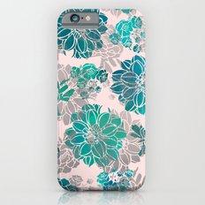 Flower Pattern Design #4 iPhone 6 Slim Case