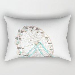 Ferris Wheel Abstract Rectangular Pillow