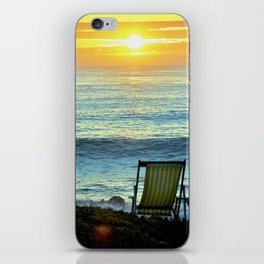 Modern Cambria CA Sunset iPhone Skin