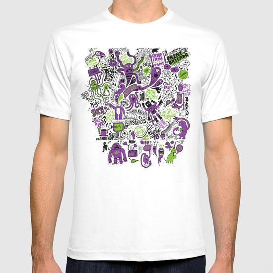Print Brigade Collage T-shirt