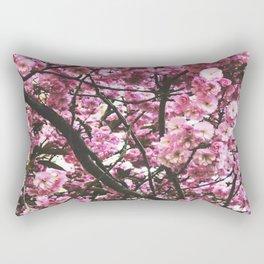 pink blossom 2 Rectangular Pillow
