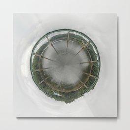Bridge Planet Metal Print