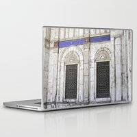 ali gulec Laptop & iPad Skins featuring Sultan Ali Mosque - Cairo by CAPTAINSILVA