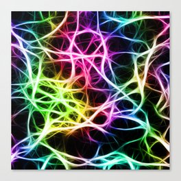 Neurons Cell Healthy Canvas Print
