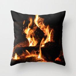 Warm me up Throw Pillow