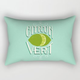 Citron Vert (Lime) Rectangular Pillow