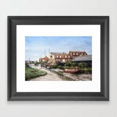 Faversham Kent England Framed Art Print