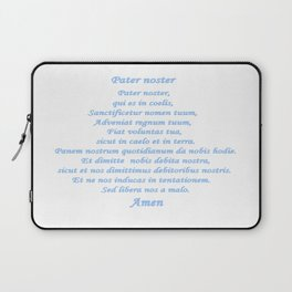 Pater noster Laptop Sleeve