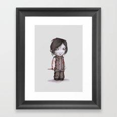 Double D Zombie Hunter Framed Art Print