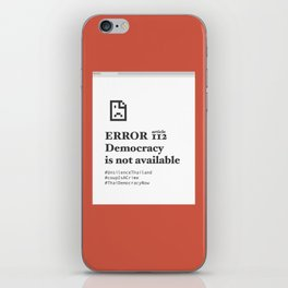 UN headquarters in New York City protest iPhone Skin