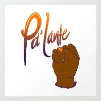 Pa'lante Art Print